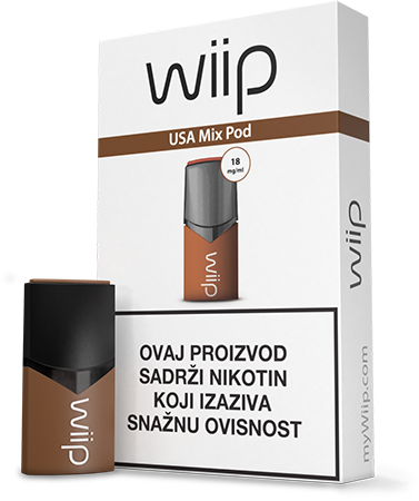 WiiPod USA Mix 18 mg/ml