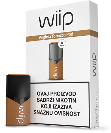 WiiPod Virginia Tobacco 10 mg/ml
