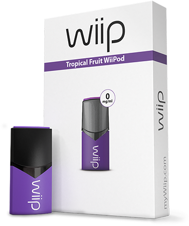 WiiPod Tropical fruit 0 mg/ml