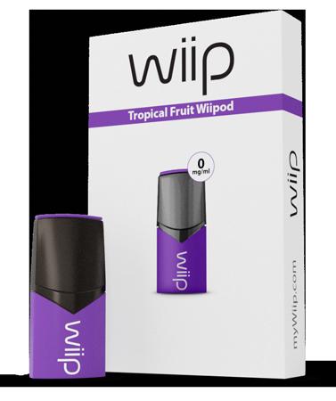 Wiipod Tropical fruit 0 mg/ml