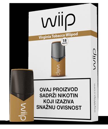 Wiipod Virginia Tobacco 18 mg/ml